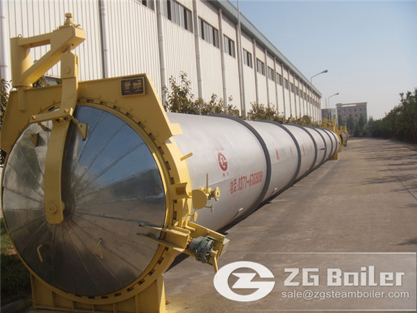 3m × 26m aac autoclave exported to Malaysia