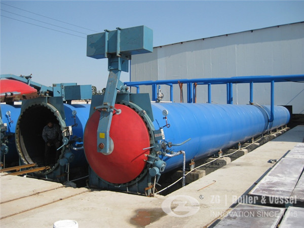 FGZFQ AAC Autoclave manufacturer and supplier in China