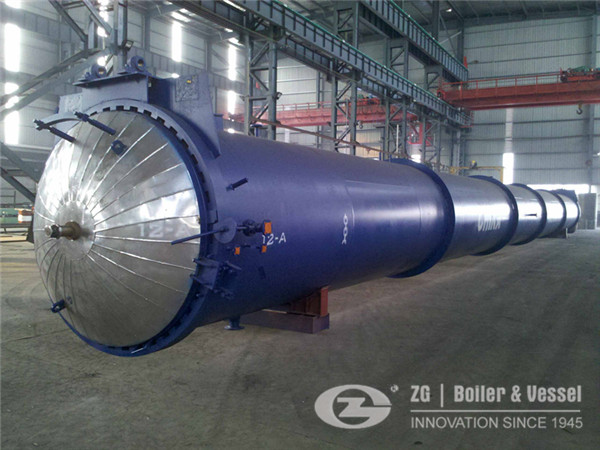 Industrial autoclave for aerospace industry in Russia