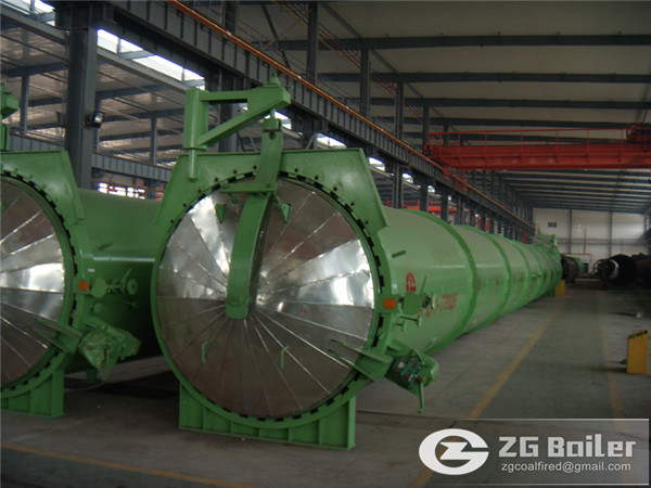 2m×33m industrial autoclave for sale