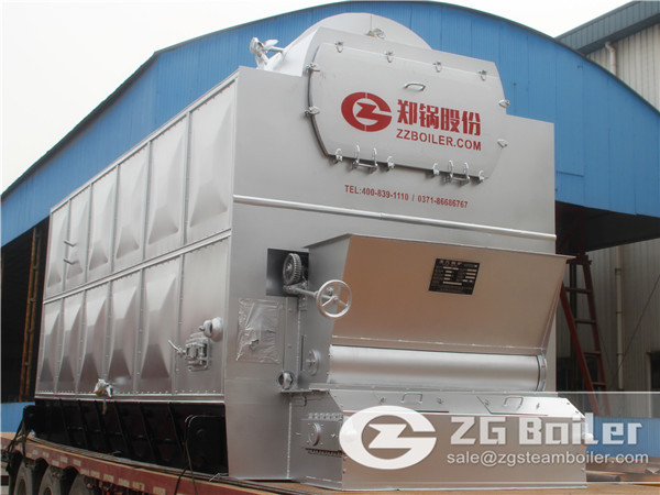 30 ton 3.82MPA biomass fired boiler for power generation in Mexico