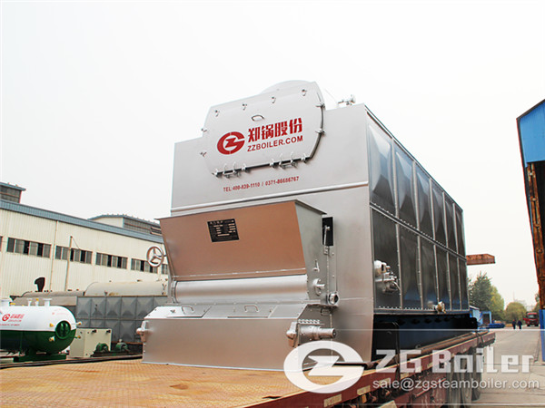 2 ton biomass fired steam boiler in China