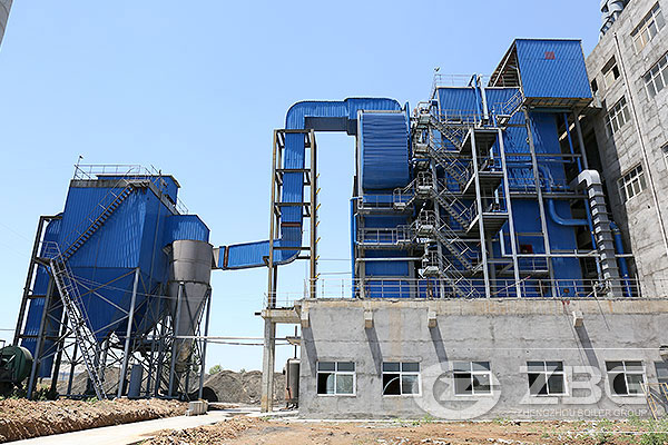 Chinese biomass fired power plant boiler