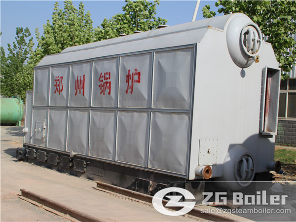 6 ton SZL series chain grate steam boiler