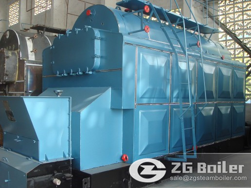 6 ton DZL chain grate steam boiler for sale to Bangladesh