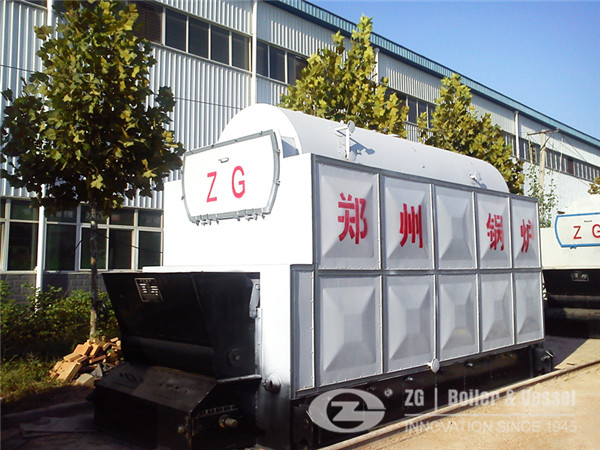 SHL35-1.6-AII coal fired chain grate boiler