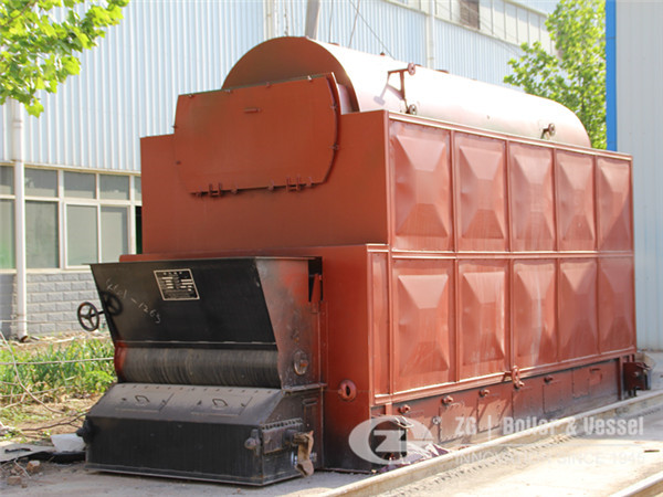 4 ton biomass fired chain grate steam boiler for sale