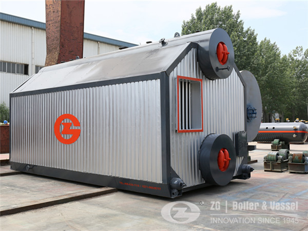 15 t/h chain grate steam boiler