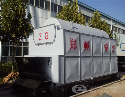 DZL chain grate steam boiler