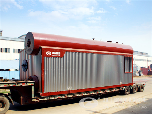 15 tph gas fired water tube boiler