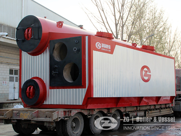 20tons 10bars gas fired steam boiler for distillation