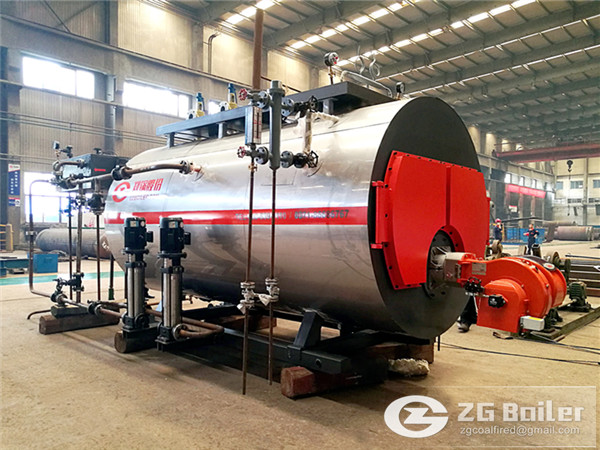 1500 kg gas fired steam boiler