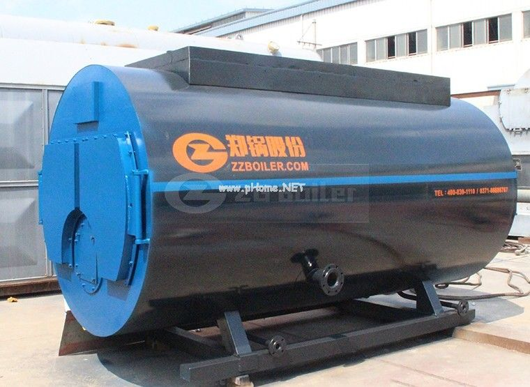 5 ton gas fired hot water boiler in chemical industry