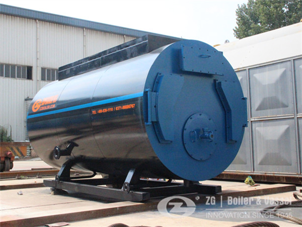 1 MW oil fired hot water boiler