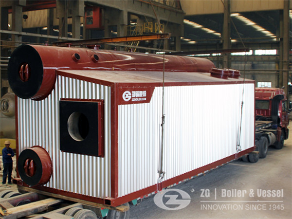 30 ton oil fired steam boiler